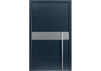 Porte grande largeur insert horizontal