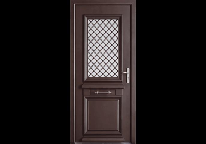 Porte vitr e et moulures l 39 ancienne - Porte d entree ancienne ...