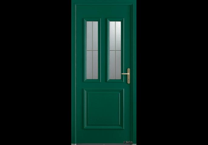 Porte vitr e 2 carreaux for Porte vitree standard