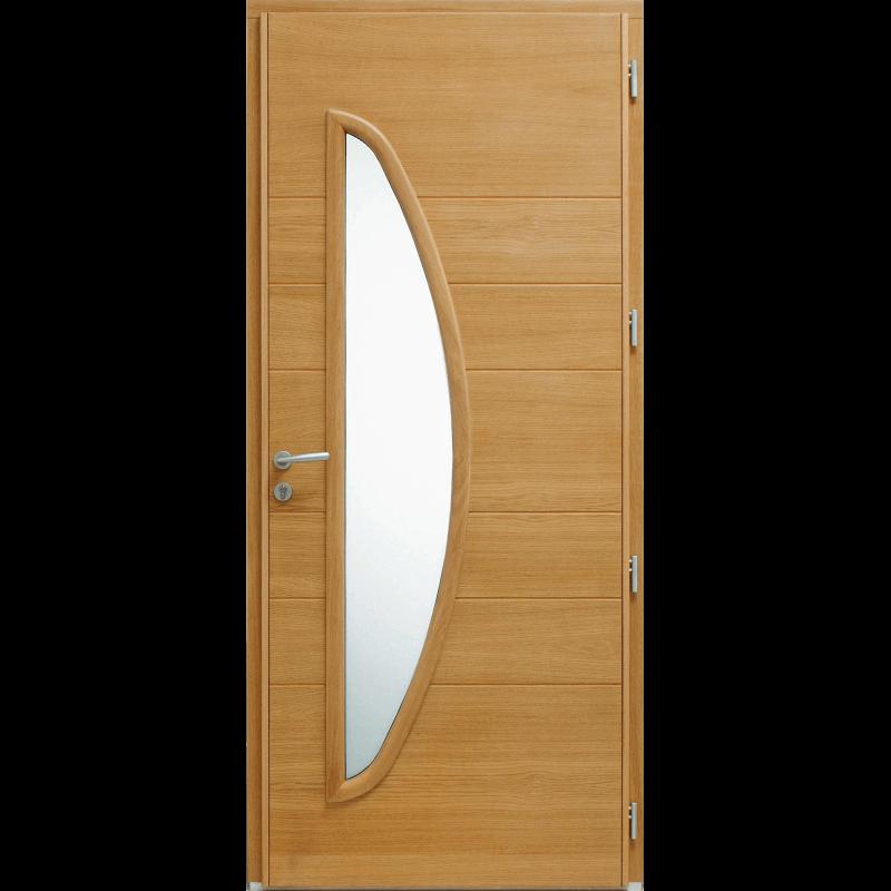 Porte vitr e demi lune mixte - Demi porte interieure ...