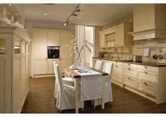 Cuisine cottage blanc