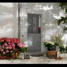 Porte fermière vitrée