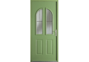 Porte d 39 entr e acier grand vitrage s rigraphi - Carreau porte vitree ...