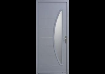Porte demi-lune verticale