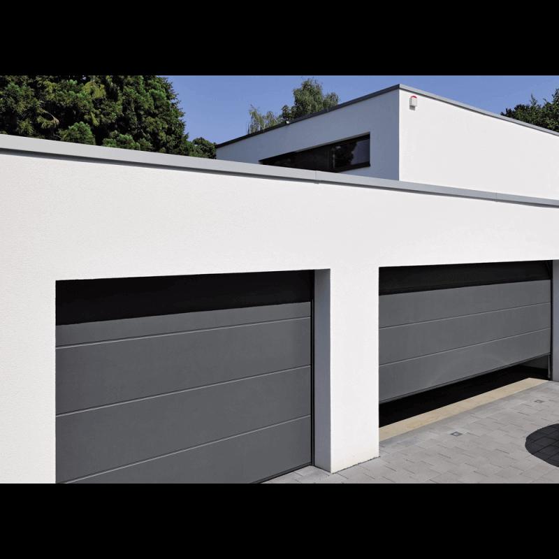 porte de garage sectionnelle refoulement plafond gamme perform. Black Bedroom Furniture Sets. Home Design Ideas