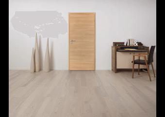 Porte d'intérieur décor bois