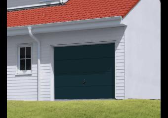 Portes De Garage Motorisées Sectionnelles Basculantes Et - Porte de garage sectionnelle avec porte de garage 4 vantaux pvc