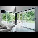 Baie vitrée coulissante aluminium sur mesure Premium