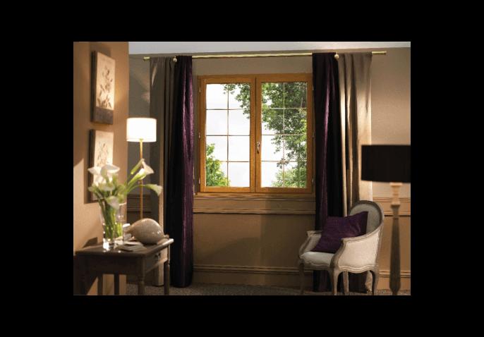 Fenêtre Sur Mesure En Bois Premium