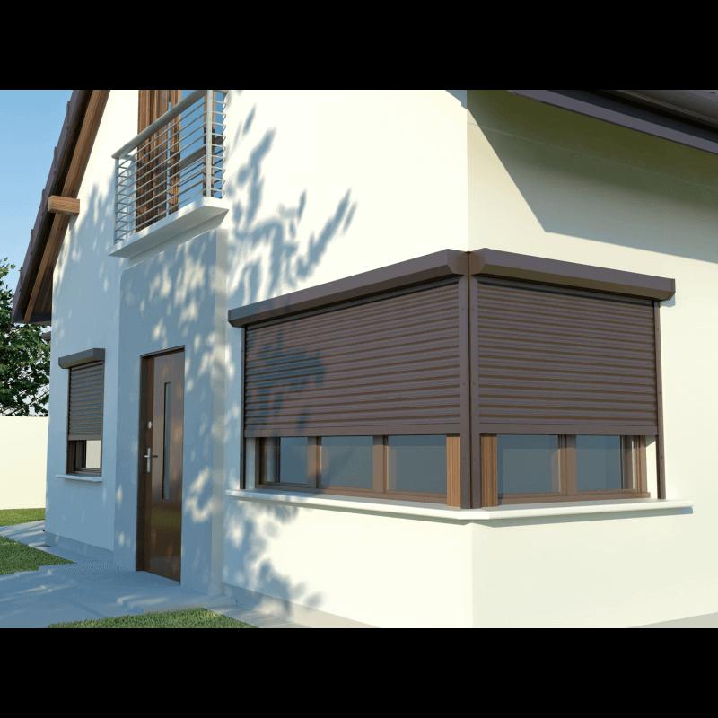 volet roulant aluminium. Black Bedroom Furniture Sets. Home Design Ideas