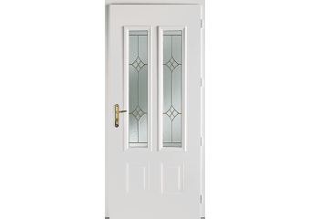 Portes d 39 entr e aluminium pvc bois acier mixtes 5 cas o - Porte d entree avec vitrail ...
