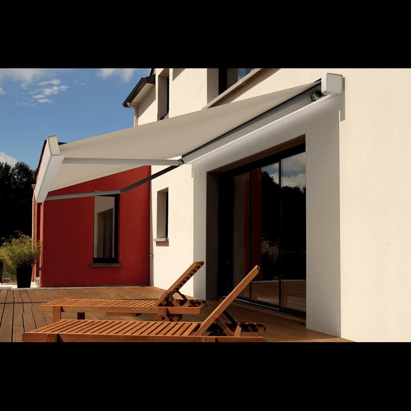 store banne sur mesure aluminium. Black Bedroom Furniture Sets. Home Design Ideas
