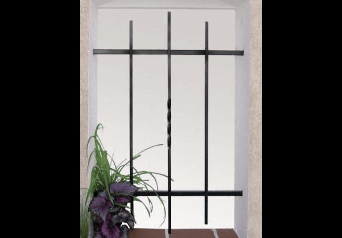 grille de d fense droite torsad e cas o. Black Bedroom Furniture Sets. Home Design Ideas
