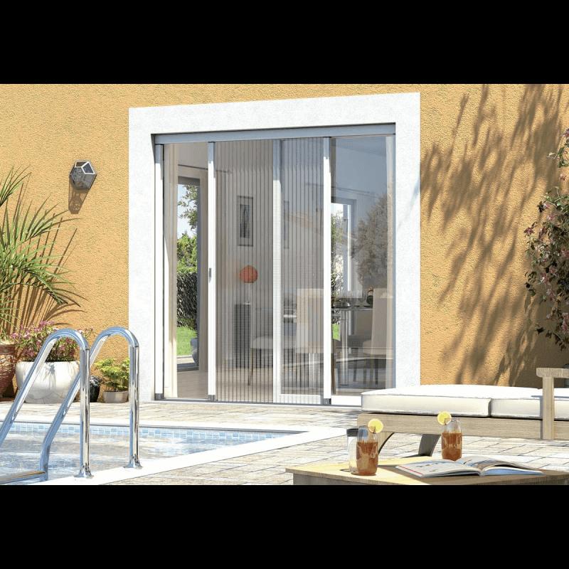 Moustiquaire coulissante pour porte fen tre et baie vitr e - Moustiquaire pour baie vitree ...