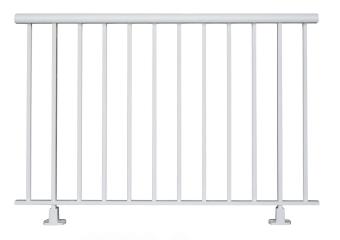 Garde corps à barreaux rectangulaires