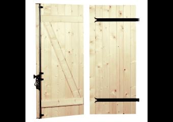 volets battants en bois sur mesure et standards cas o. Black Bedroom Furniture Sets. Home Design Ideas