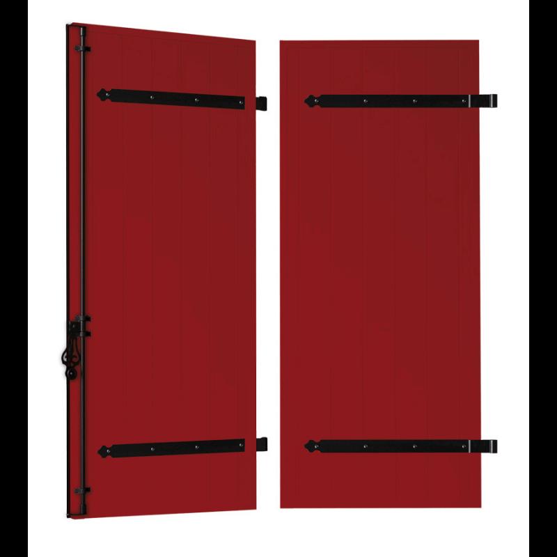 volet battant alu contrepentures cas o. Black Bedroom Furniture Sets. Home Design Ideas
