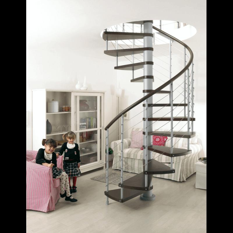 escalier moderne en colima on ajustable bois acier. Black Bedroom Furniture Sets. Home Design Ideas