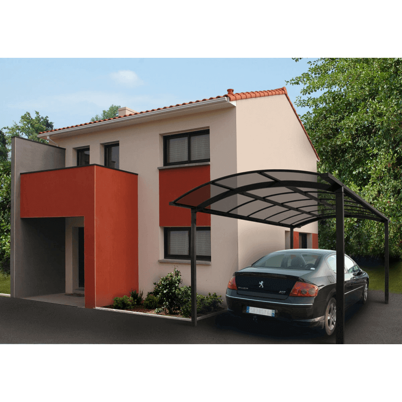 carport aluminium sur mesure. Black Bedroom Furniture Sets. Home Design Ideas