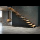 Escalier droit 1 limon latéral