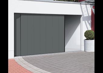 Portes de garage motoris es sectionnelles basculantes et enroulables cas o - Portes de garage sectionnelles motorisees ...
