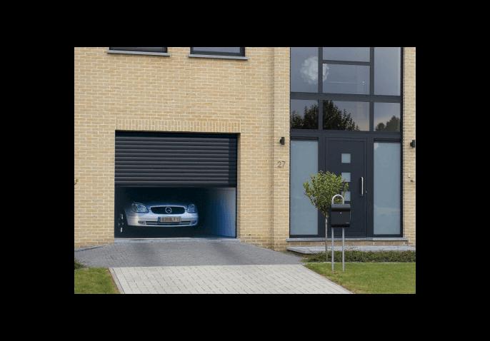 Porte de garage enroulable double paroi for Porte garage securisee