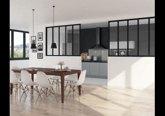 verri res d 39 atelier et cloison style industriel cas o. Black Bedroom Furniture Sets. Home Design Ideas