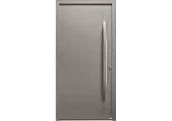 Porte sans vitrage épurée et moderne