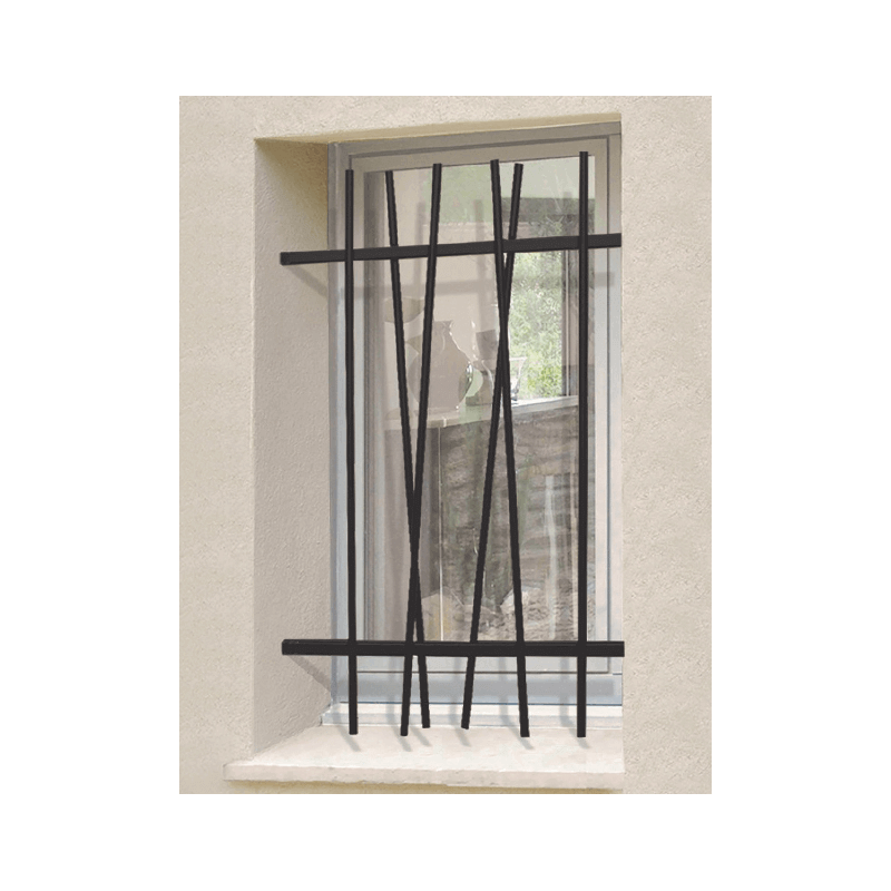 grille de d fense moderne cas o. Black Bedroom Furniture Sets. Home Design Ideas