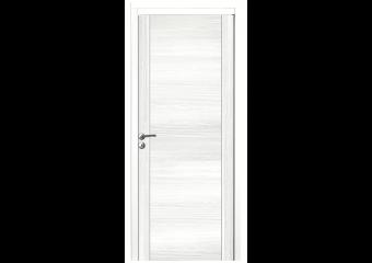 Porte pleine décor blanc