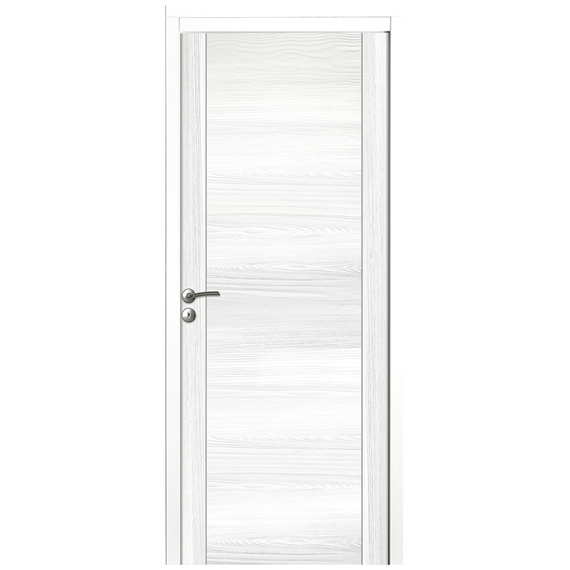 Porte Pleine Décor Blanc ...