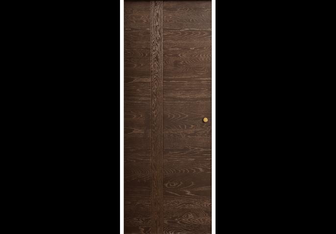 Porte intérieure coulissante bois