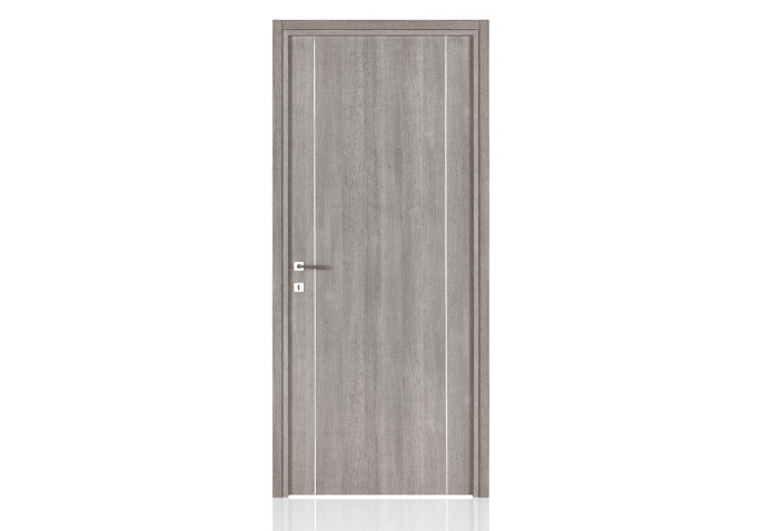 Porte stratifiée 2 inserts