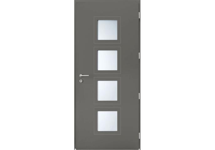Porte 4 vitrages carrés