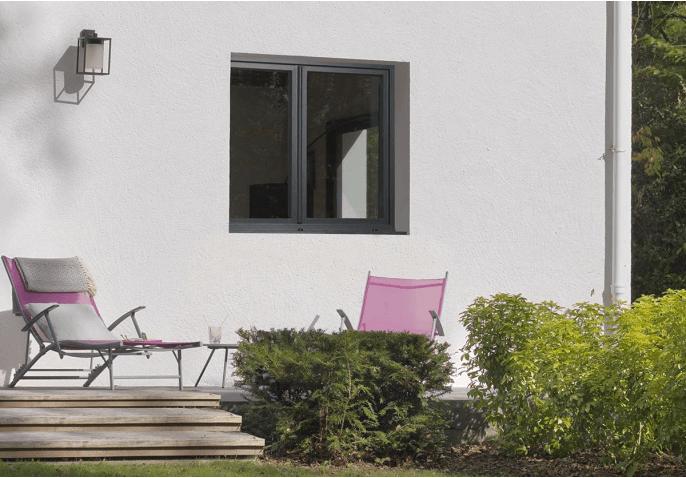 Fenêtre Pvc Gris Anthracite Sur Mesure Et Personnalisable Premium