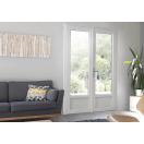 Porte fenêtre PVC blanche
