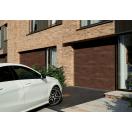 Porte de garage sectionnelle finition ton minéral