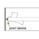 Joint brosse