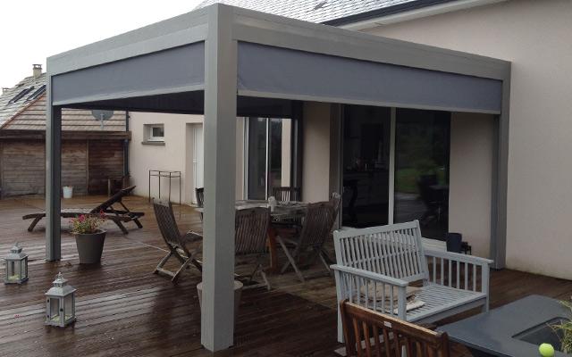 Pergola Bioclimatique Accessoire Et Protection De Terrasse