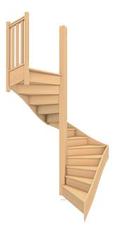 escalier bien le choisir et le poser. Black Bedroom Furniture Sets. Home Design Ideas
