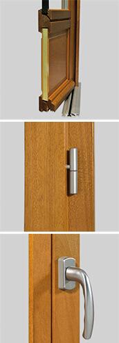 Porte Fenêtre Bois Sur Mesure Premium