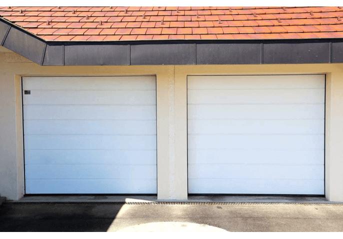 Portes de garage sectionnelles refoulement plafond à Pringy Annecy