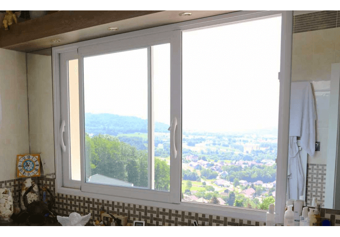 Fenêtre coulissante en aluminium à Pringy Annecy