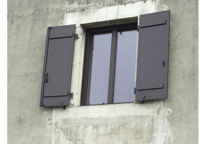 Rénovation fenêtre battante 2 vantaux et volets battants alu à Groisy Annecy