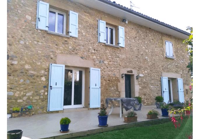 Portes fenêtres PVC et porte d'entrée ALU à Saint Marcellin