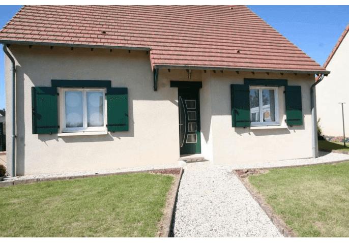 Pose d'une porte d'entrée, fenêtres et volets battants PVC à Caen (14)