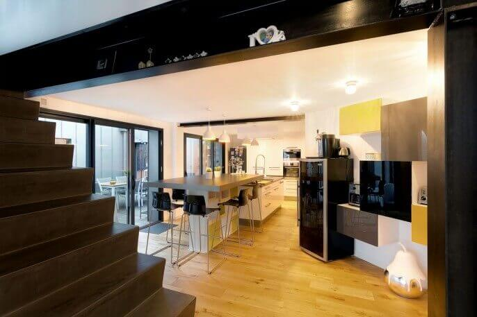 Réalisation loft contemporain et scandinave à Saint Nazaire 8
