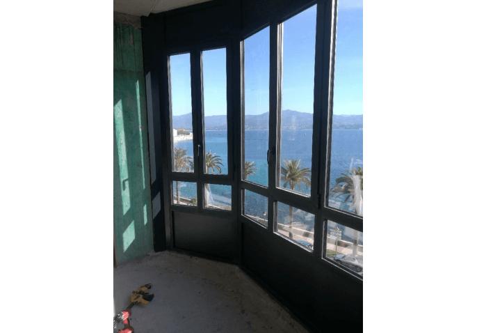 Fenêtres aluminium châssis composé à Ajaccio