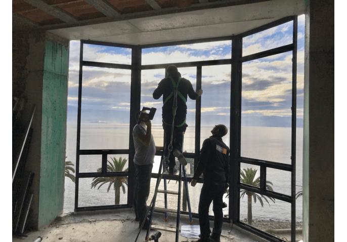 Pose fenêtres aluminium Ajaccio