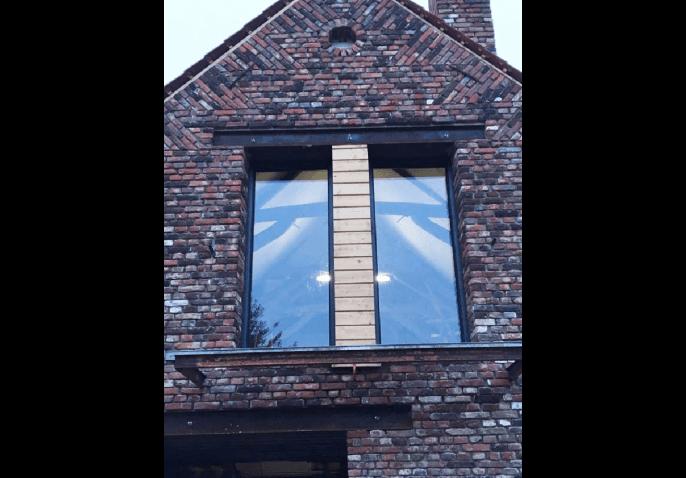 Fenêtre aluminium gris anthracite à Lille